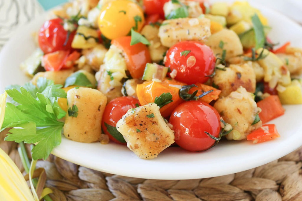 PaleOMG Summer Vegetable Gnocchi