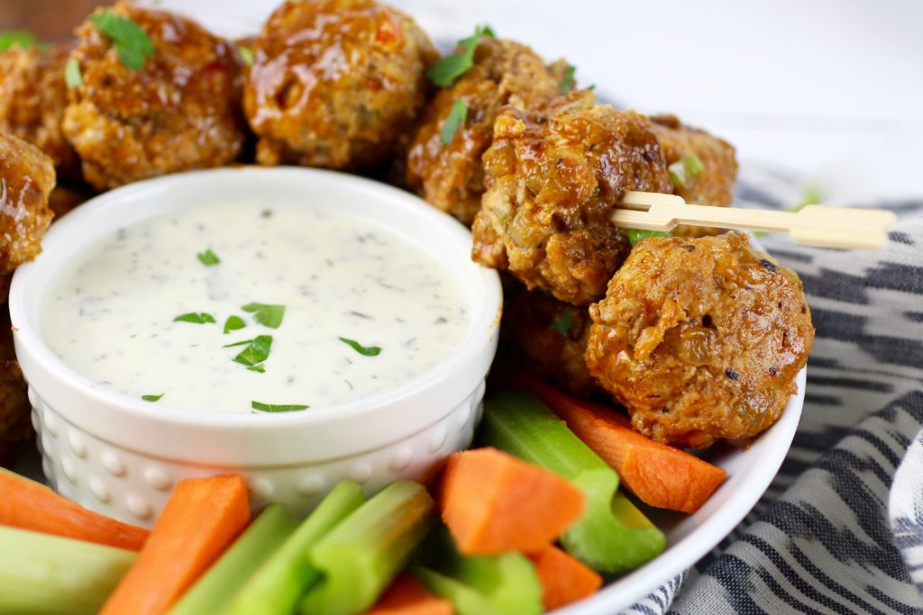 Guest Post: Buffalo Chicken Meatballs