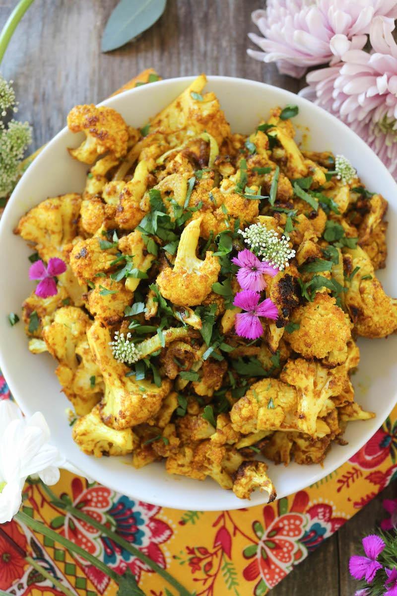PaleOMG Curry Roasted Cauliflower & Fennel