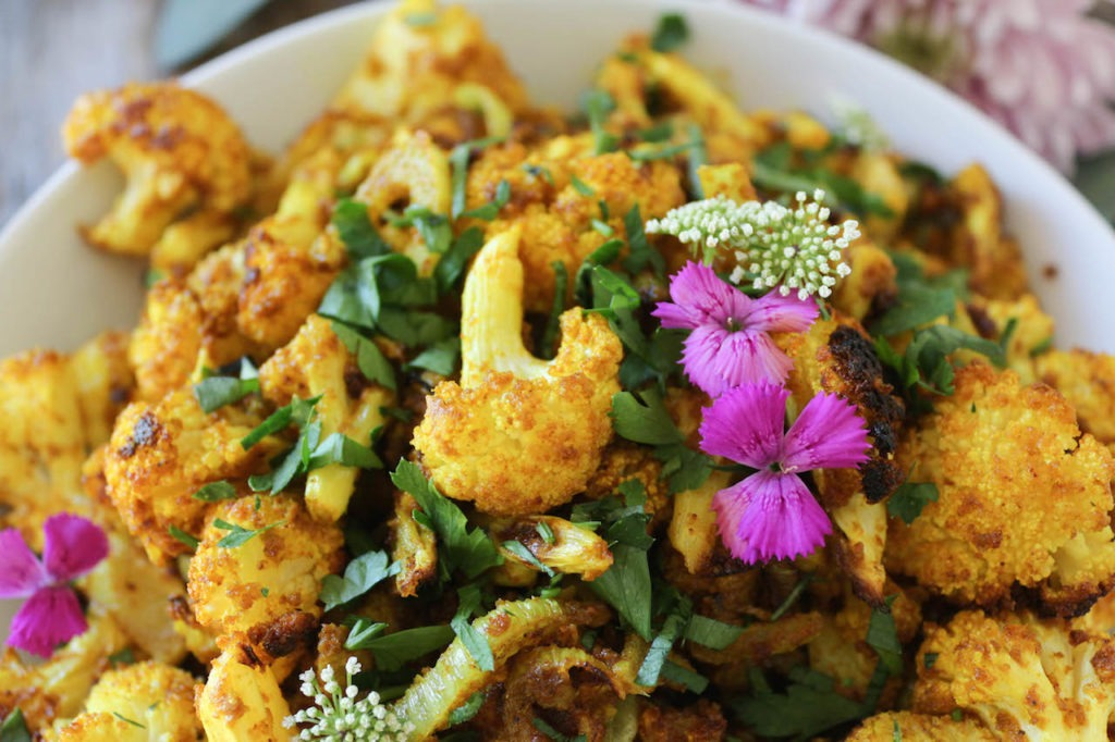 PaleOMG Curry Roasted Cauliflower & Fennel
