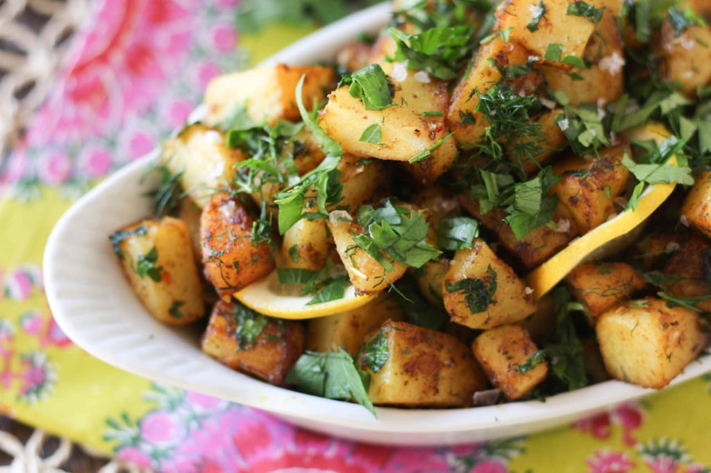 PaleOMG Lemon Herb & Dill Potatoes