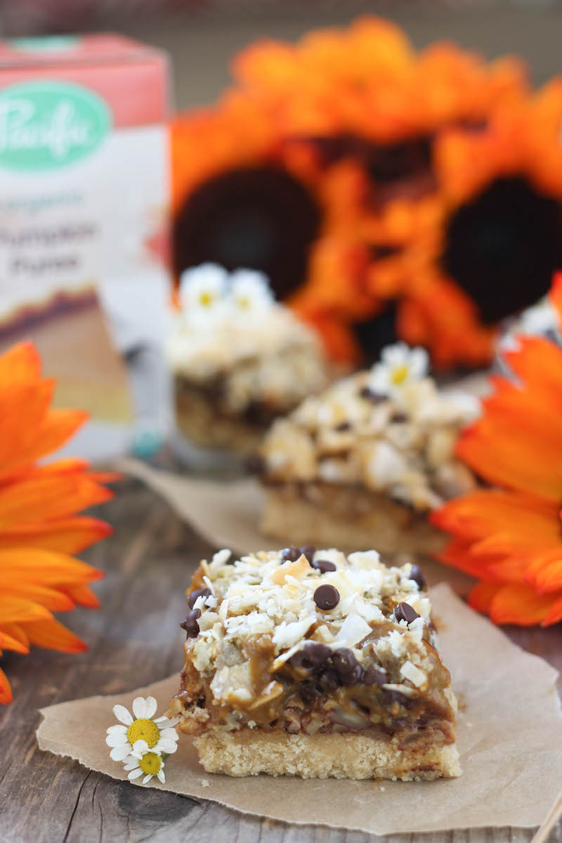 PaleOMG Pumpkin Magic Bars