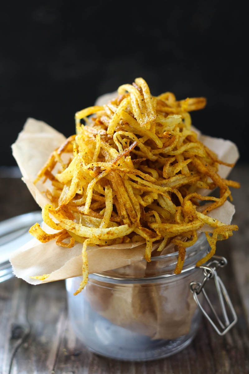 PaleOMG Duck Fat Curry Fries