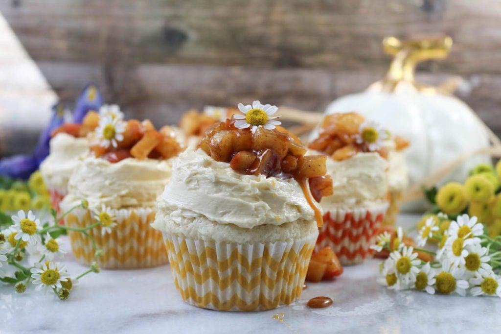PaleOMG Apple Pie Cupcakes