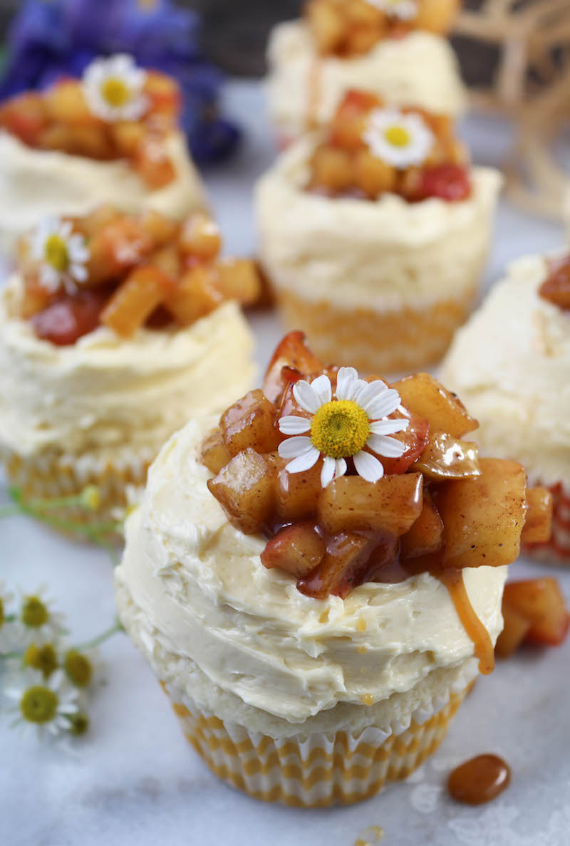 PaleOMG Apple Pie Cupcakes