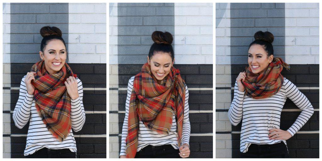 PaleOMG: 7 Ways to Wear a Blanket Scarf Vlog