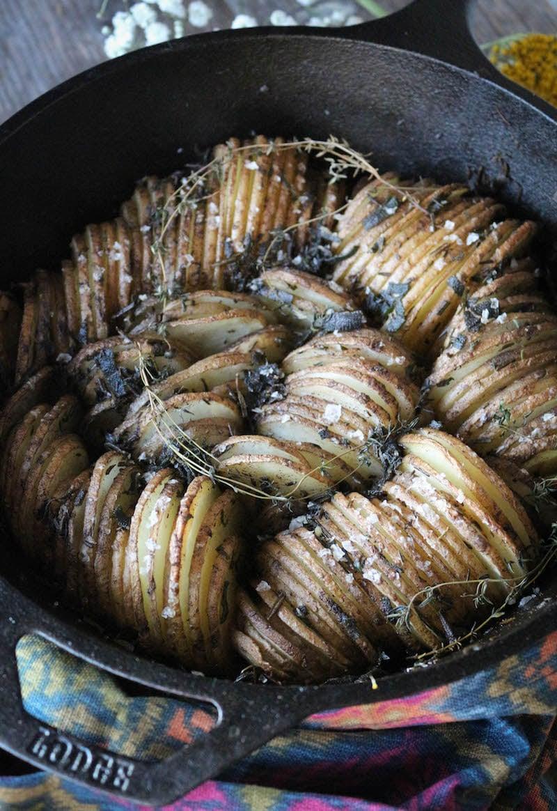 PaleOMG Brown Butter & Herb Skillet Potatoes