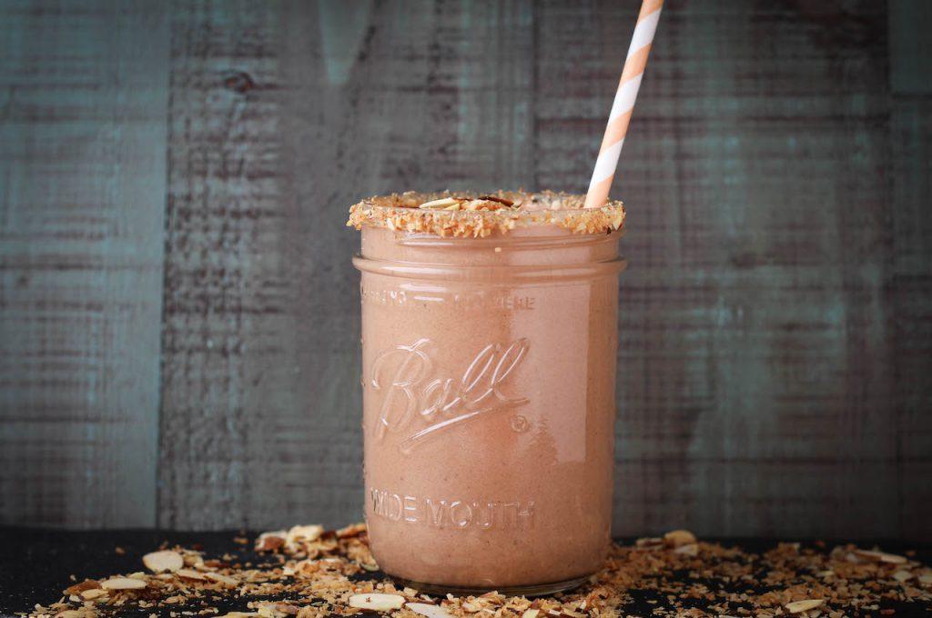 PaleOMG Almond Joy Protein Shake