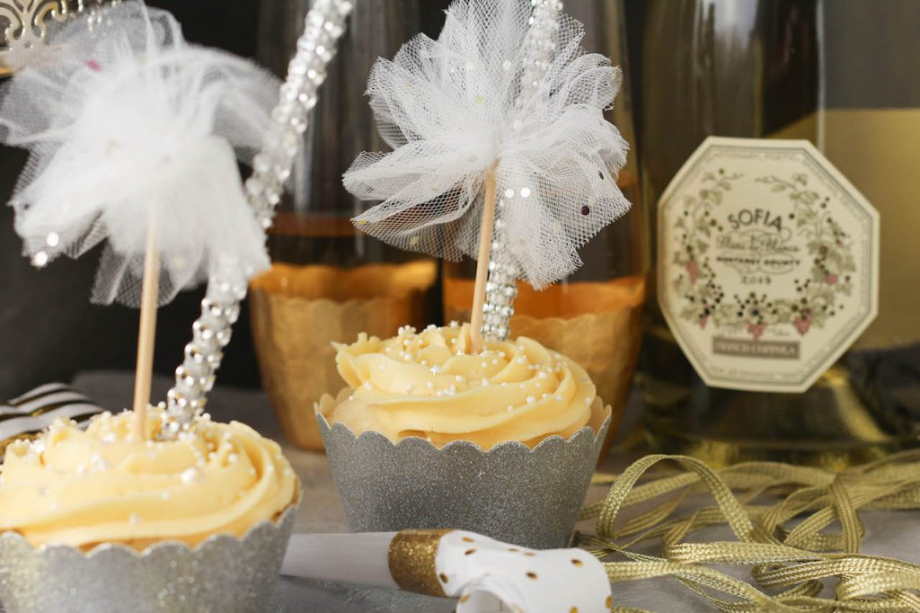 PaleOMG New Year's Eve Champagne Cupcakes