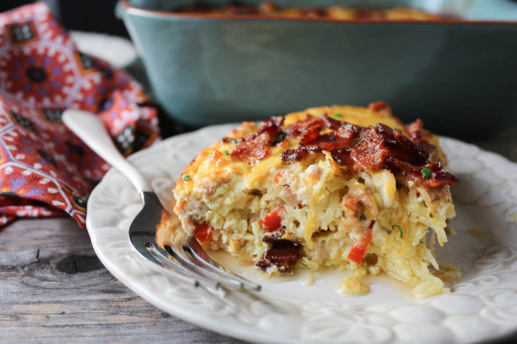 PaleOMG Chicken Bacon Ranch Casserole