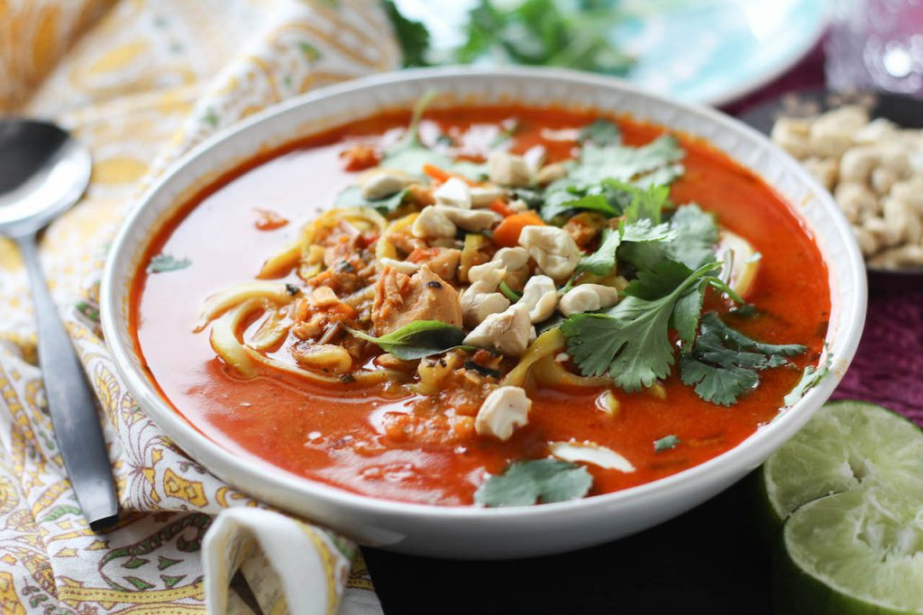 PaleOMG Thai Red Curry Noodle Bowls