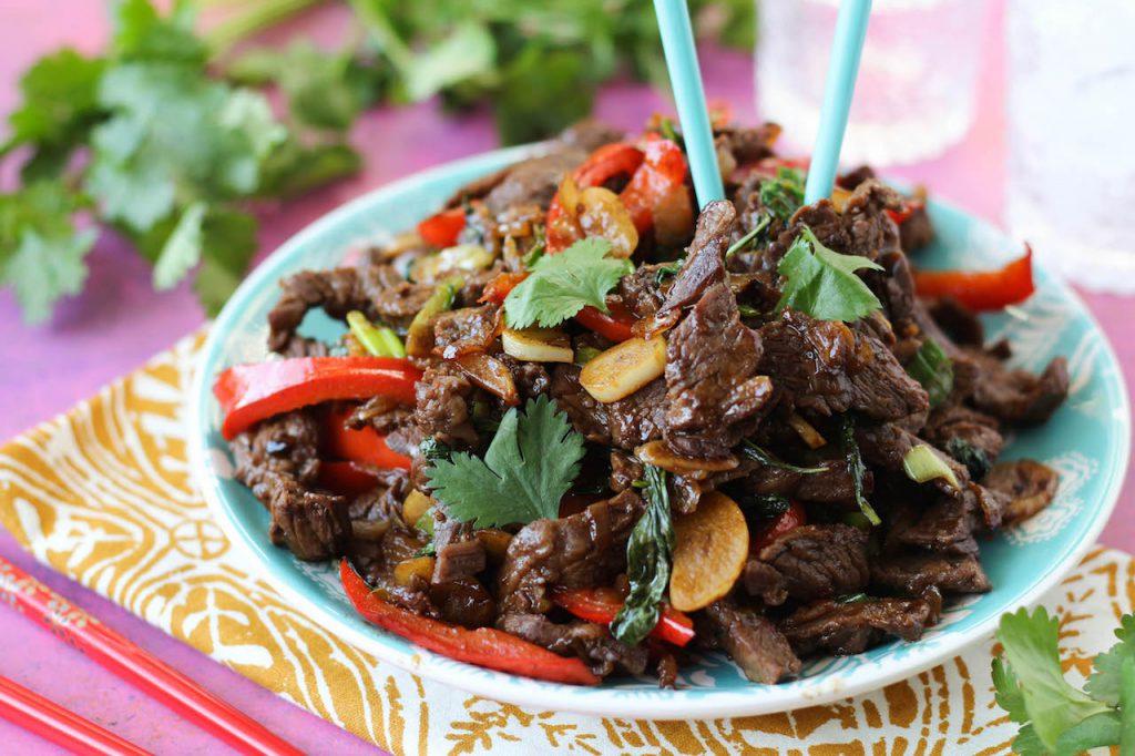 PaleOMG Thai Basil Beef