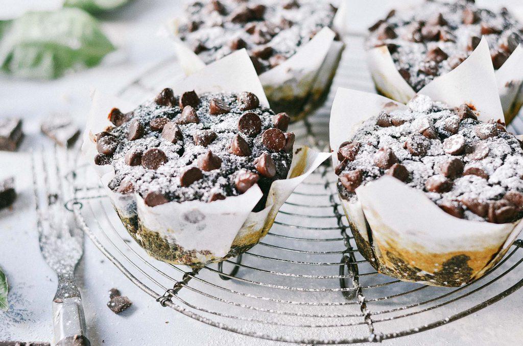 PaleOMG Flourless Chocolate Zucchini Banana Muffins