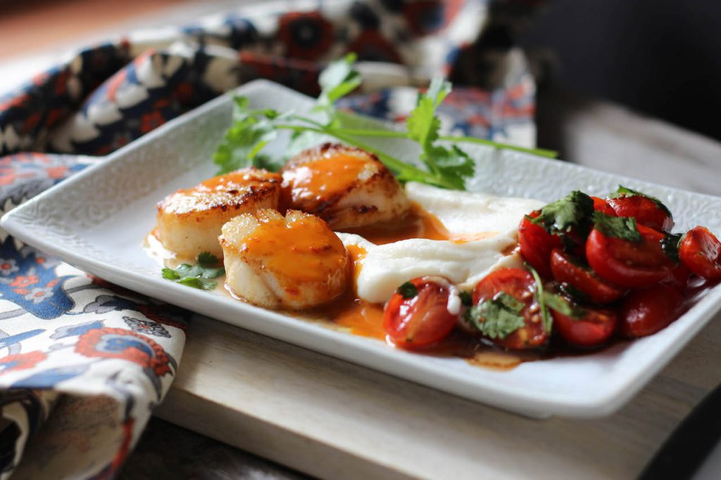 PaleOMG Seared Scallop Dinner For Two