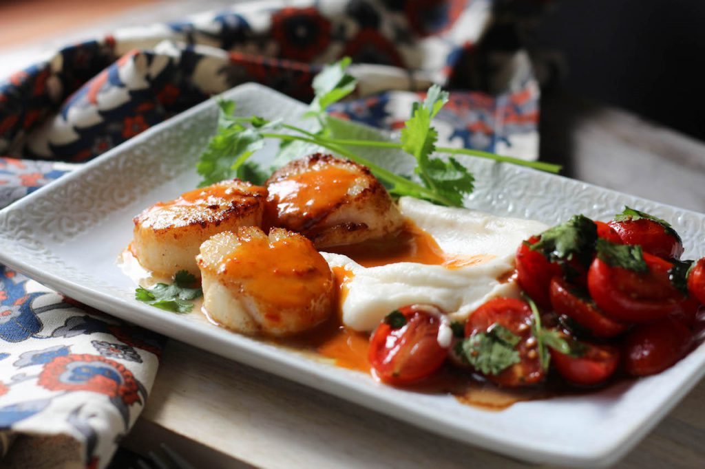PaleOMG Valentine's Day Seared Scallops Dinner for Two