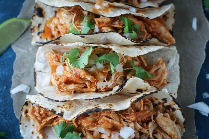 PaleOMG Instant Pot Chicken Tinga Tacos