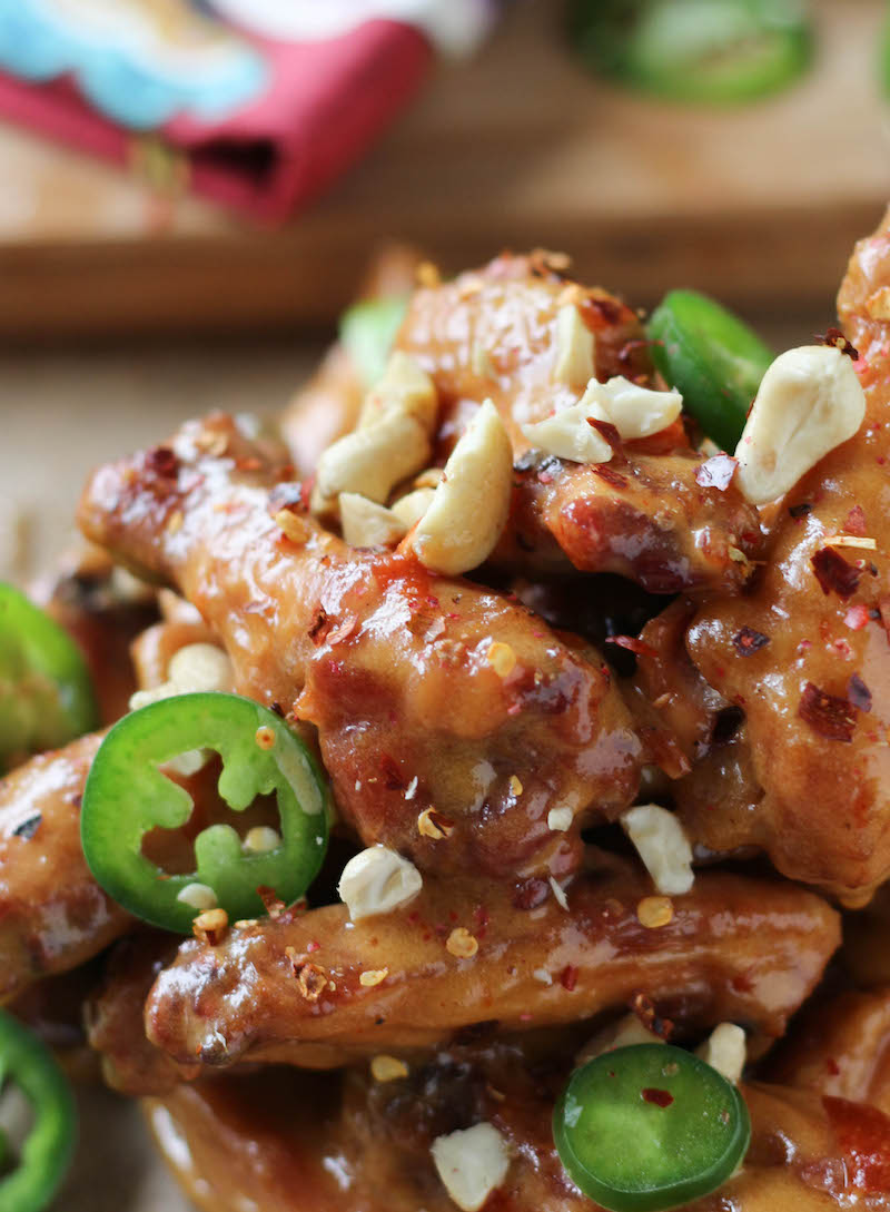 PaleOMG Pad Thai Chicken Wings