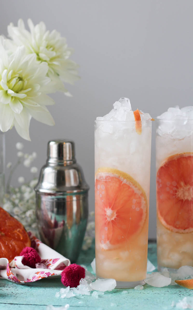 PaleOMG Caramelized Grapefruit Gin & Tonic