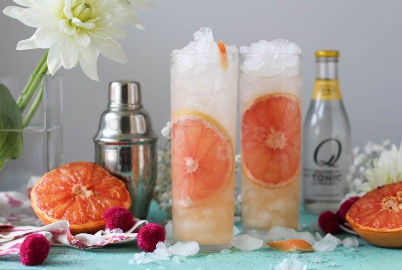 PaleOMG Caramelized Grapefruit Gin & Tonic