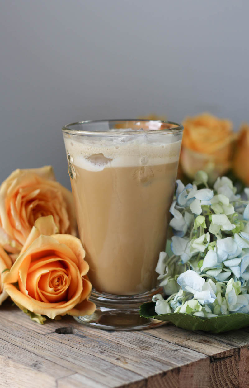 PaleOMG Vanilla Bean Sweet Cream Collagen Iced Coffee