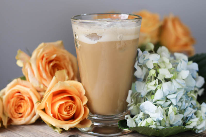 PaleOMG Vanilla Bean Collagen Iced Coffee