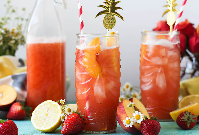 PaleOMG Strawberry Peach Lemonade