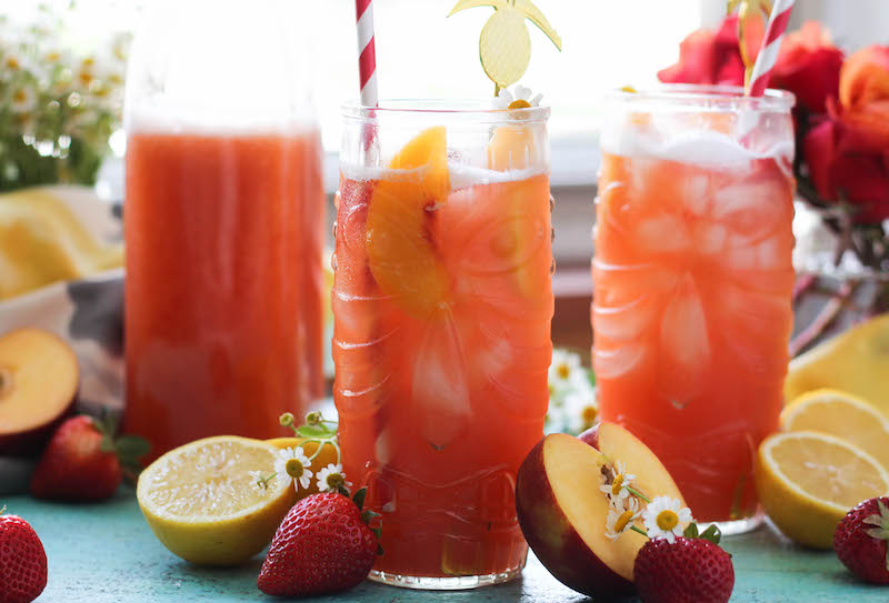 PaleOMG Strawberry Peach Lemonade