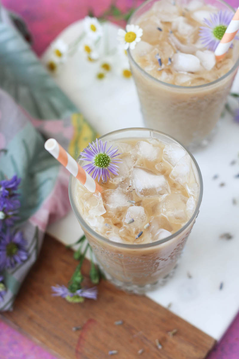 PaleOMG Honey Lavender Iced Lattes