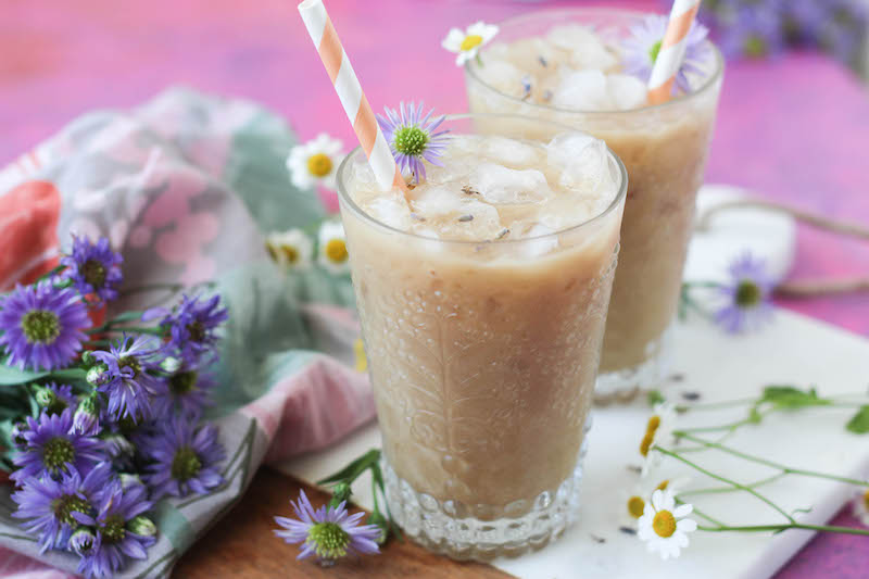 PaleOMG Lavender Iced Lattes