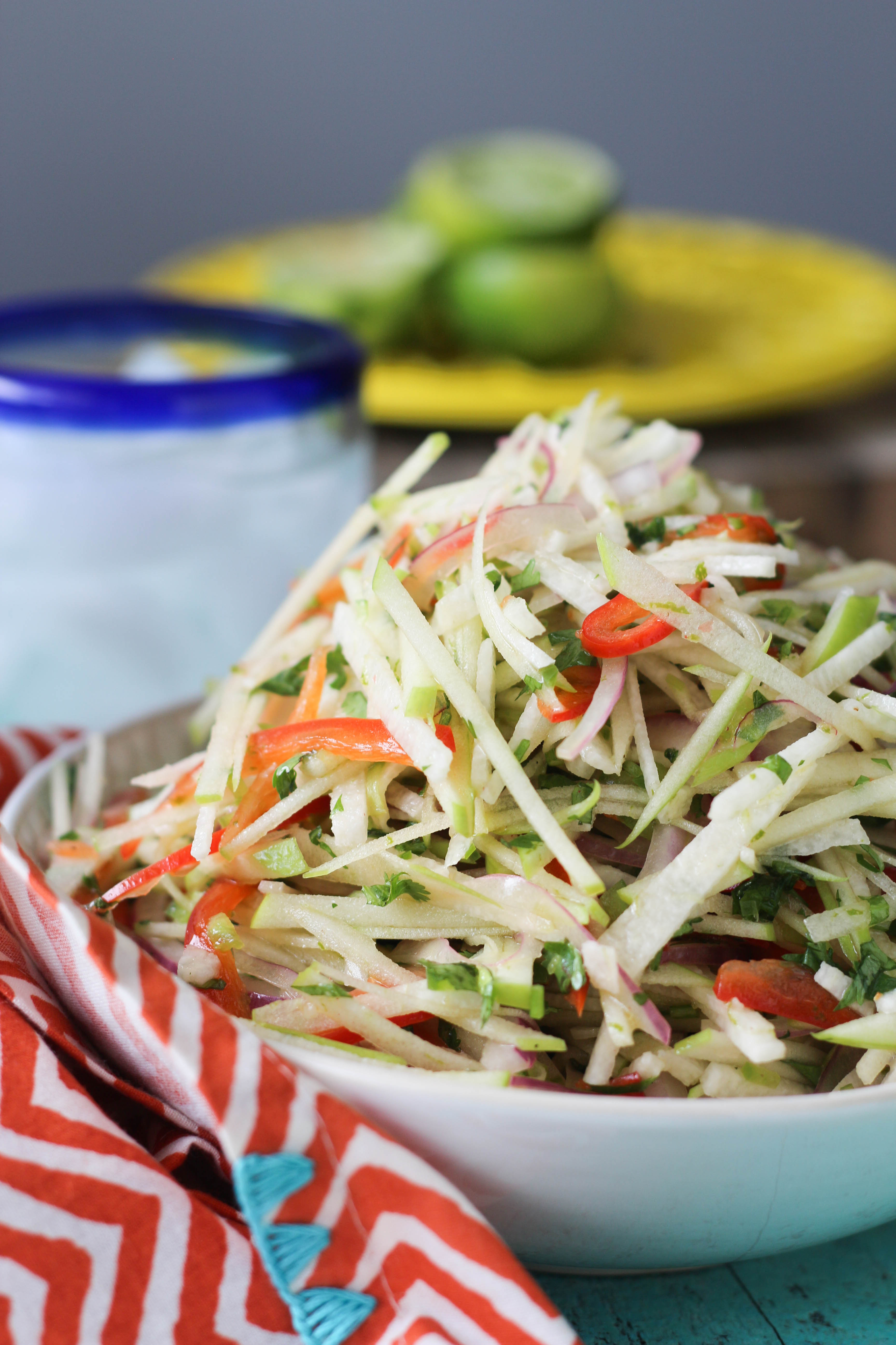 PaleOMG Jicama Apple Slaw