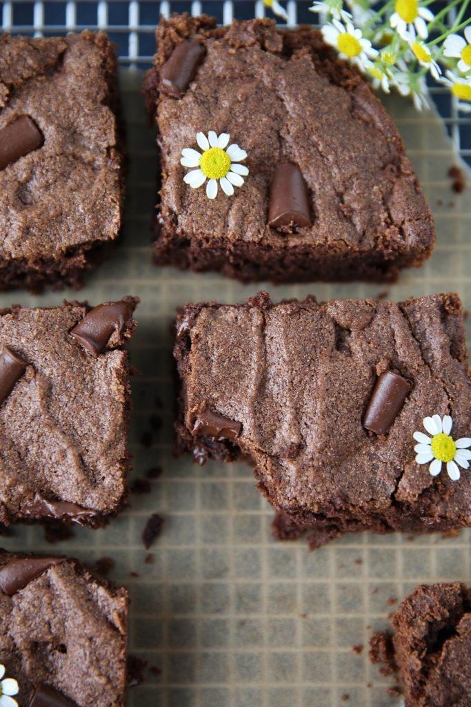 PaleOMG Cassava Chocolate Chunk Brownies