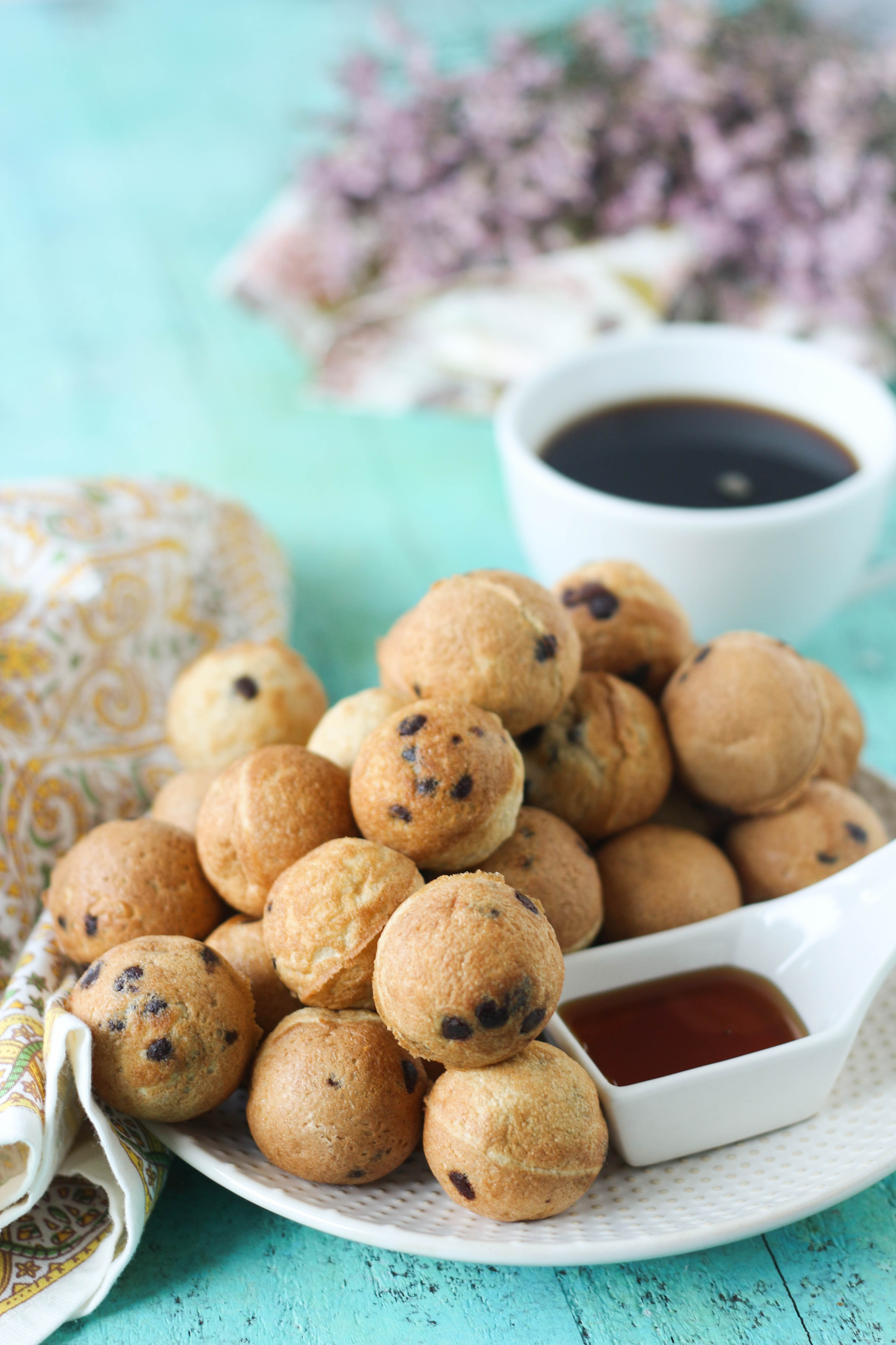 PaleOMG Chocolate Chip Pancake Bites