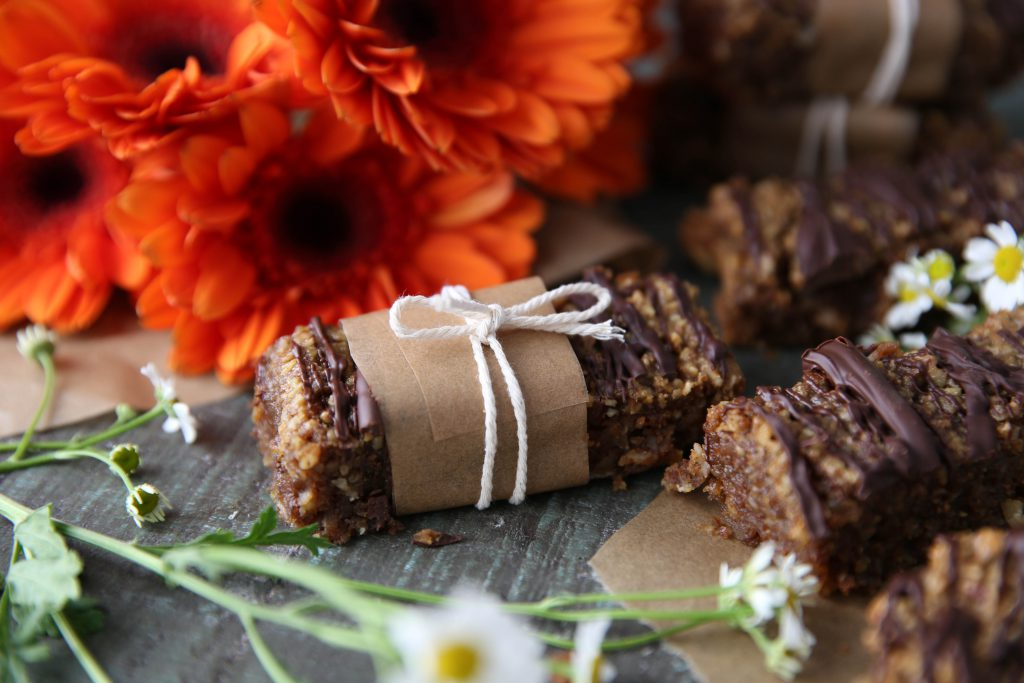 PaleOMG Pumpkin Spice Baked Granola Bars