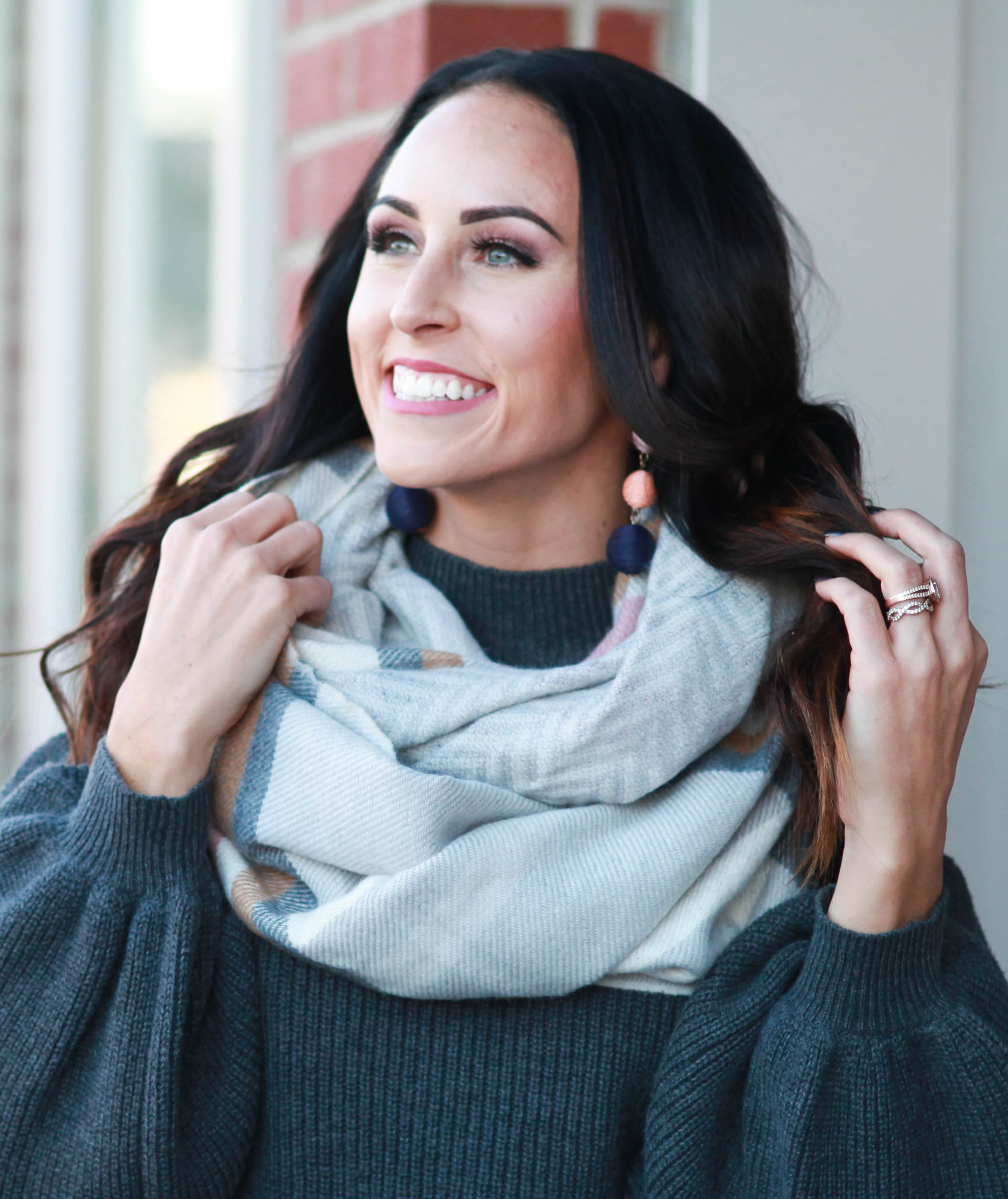 PaleOMG Fashion: Winter Scarves and Flattering Sweaters