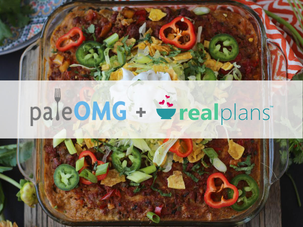 Flash Sale - Meal Planning Made Easy with PaleOMG & Real Plans