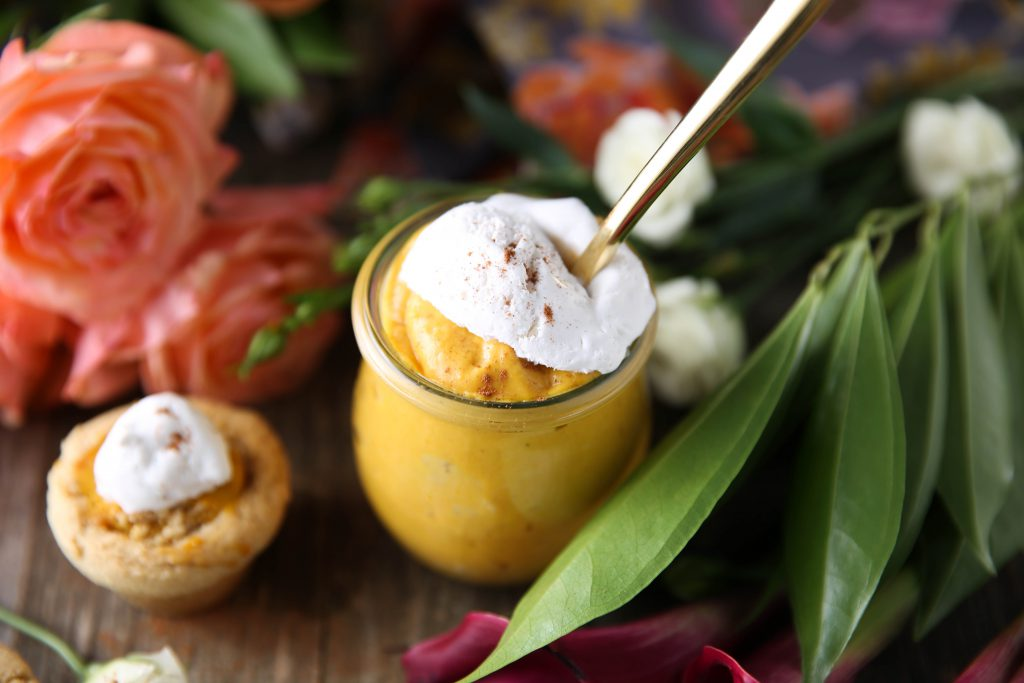 PaleOMG No Bake Pumpkin Cheesecake