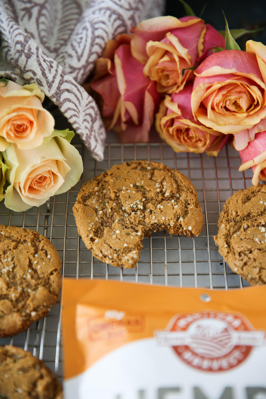 PaleOMG Ginger Tahini Cookies
