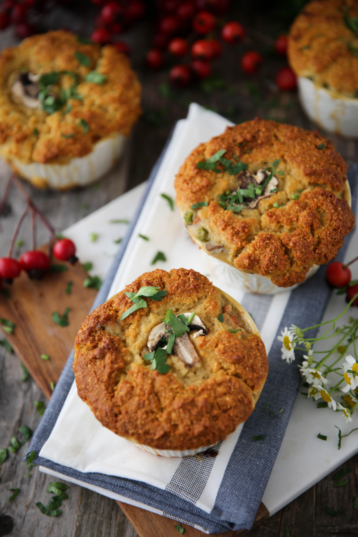 PaleOMG Thanksgiving Leftovers: Cornbread Turkey Pot Pies