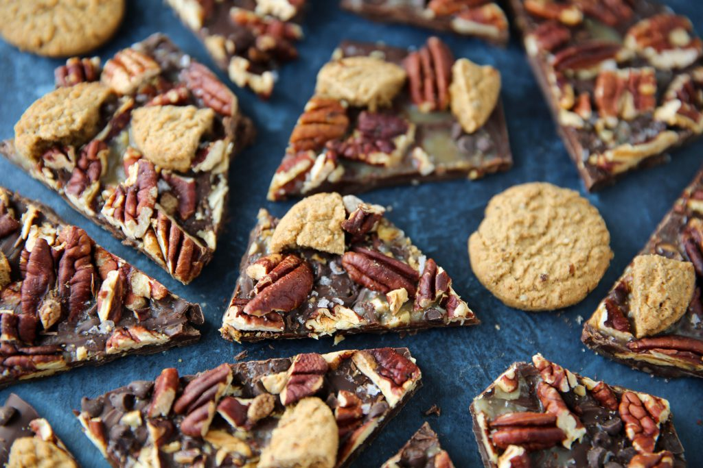 PaleOMG Pecan Pie Cookie Bark