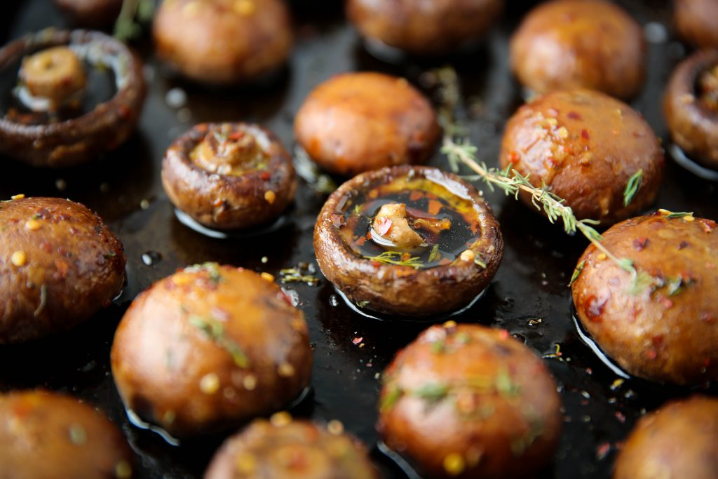 Oven Roasted Mushrooms Paleomg Com