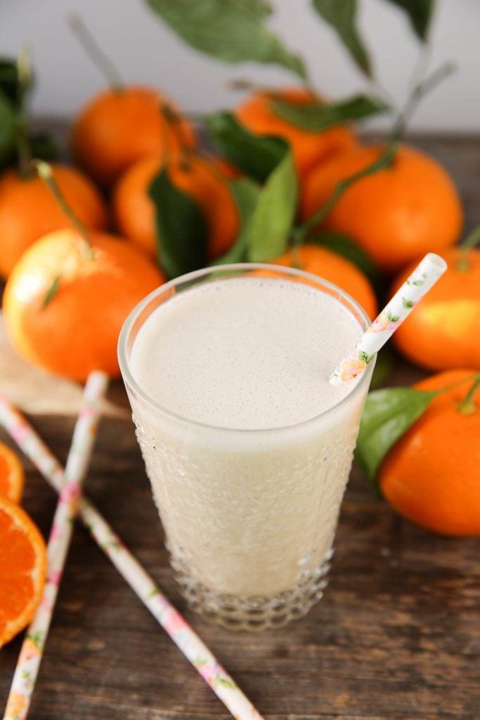PaleOMG Orange Creamsicle Collagen Smoothie (+ cooking video!)