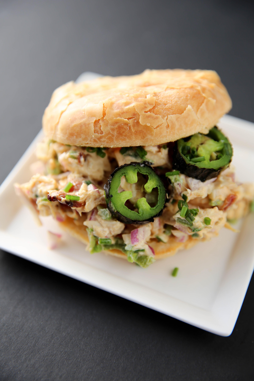 PaleOMG Jalapeño Popper Chicken Salad (+ cooking video!)