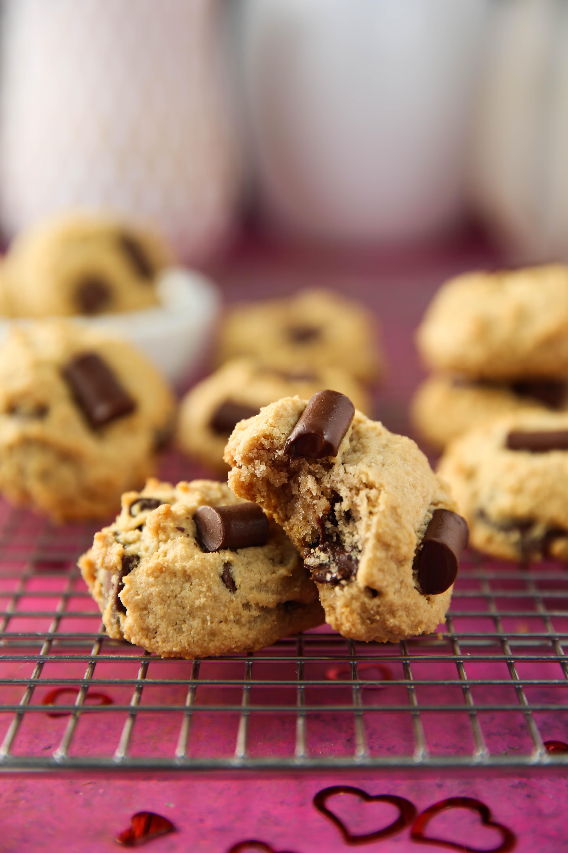 PaleOMG Valentine's Day Dairy-Free Cream Cheese Chocolate Chunk Cookies