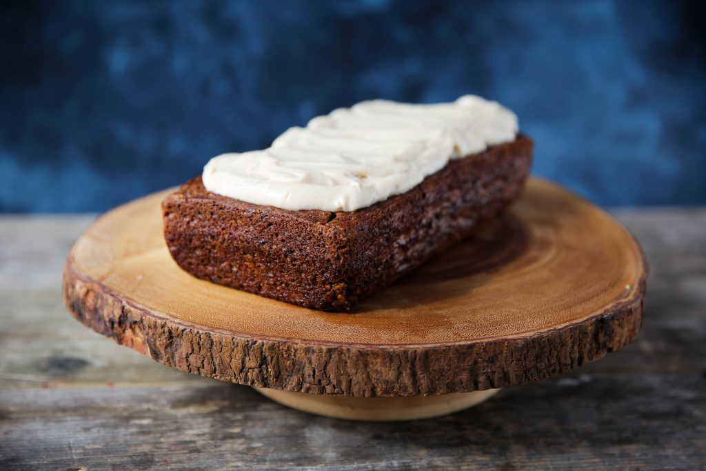 PaleOMG Dairy-Free Cream Cheese Frosted Carrot Loaf