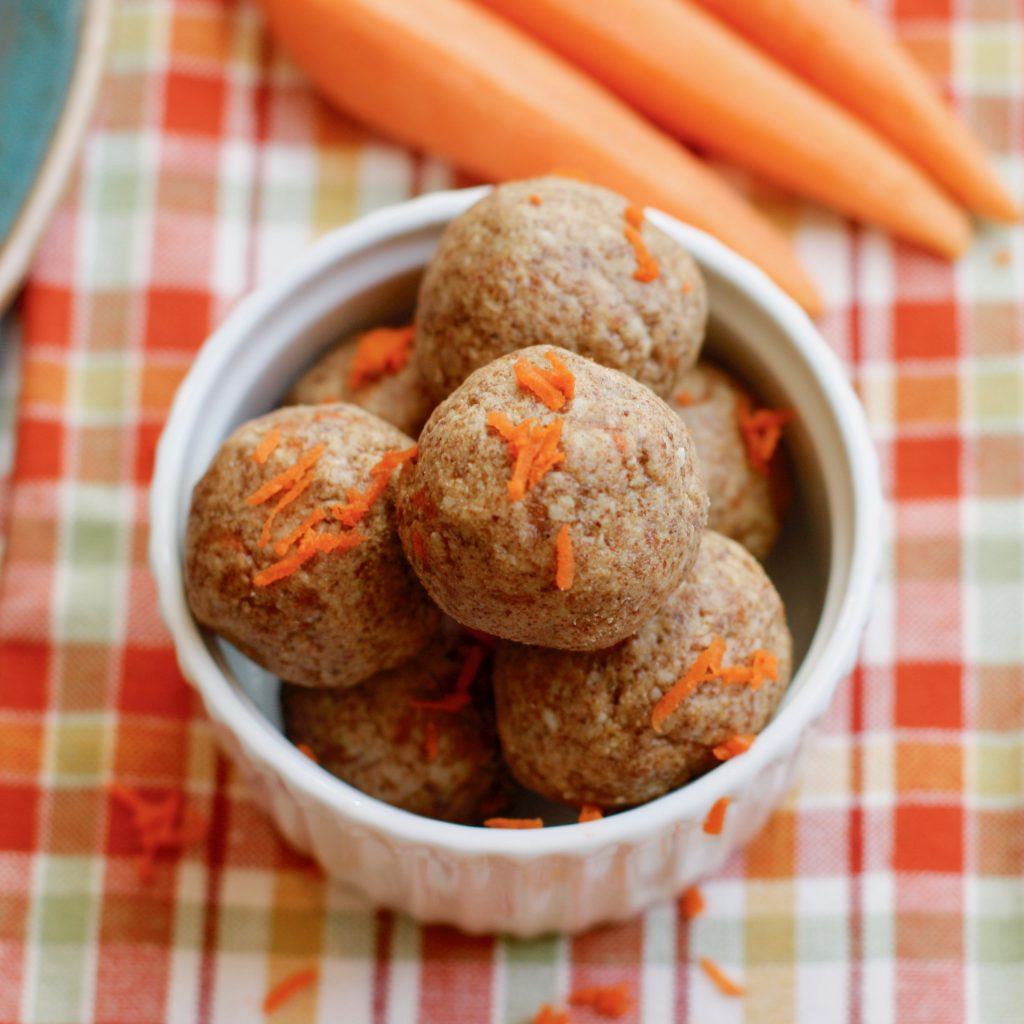Guest Post - Carrot Cake Protein Balls