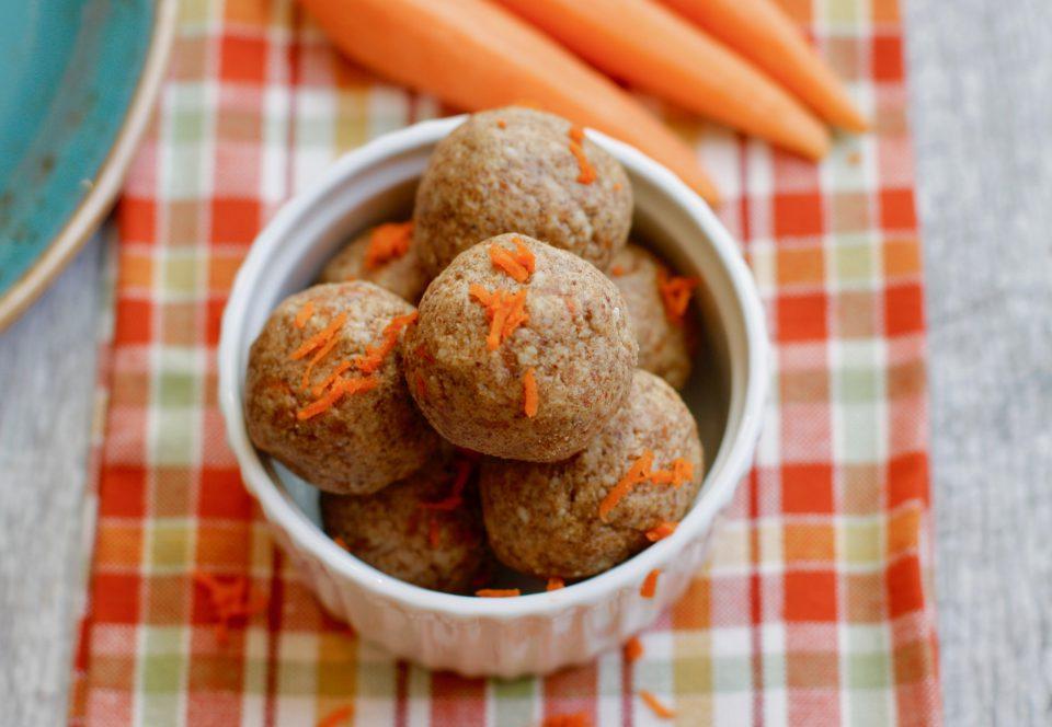 Carrot Cake Protein Balls 5