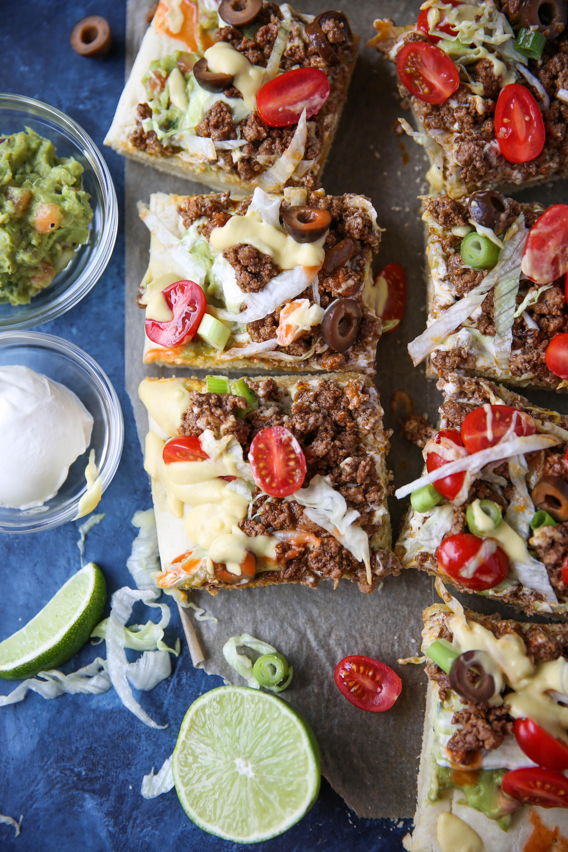 PaleOMG Taco Pizza