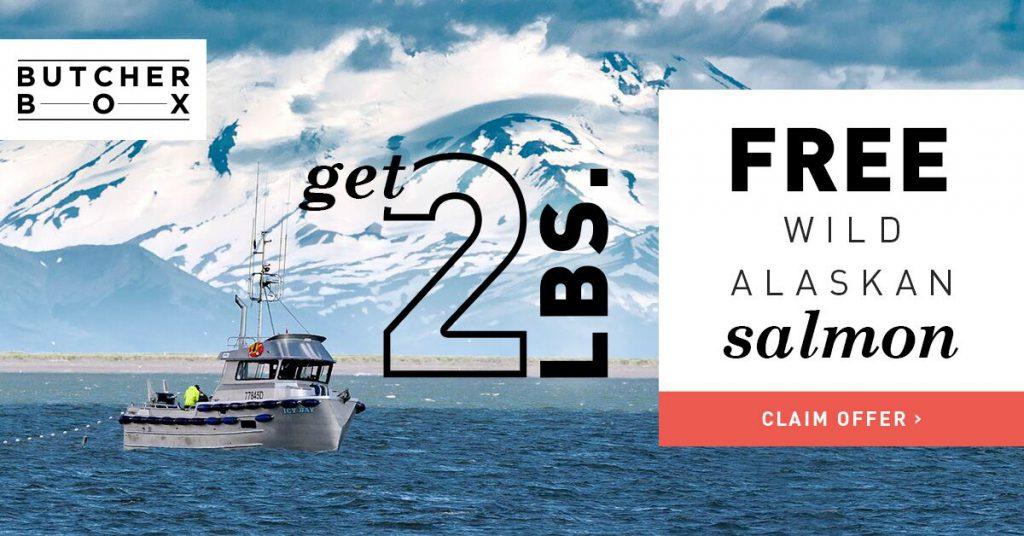 Free Salmon ButcherBox Campaign