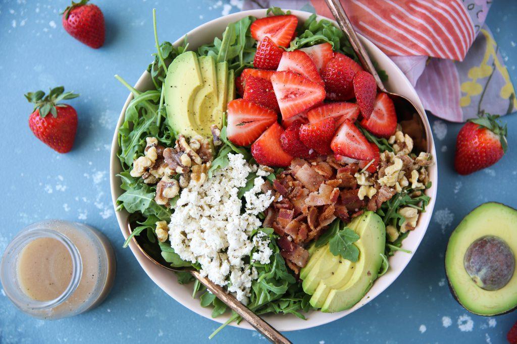 PaleOMG Strawberry Bacon Salad