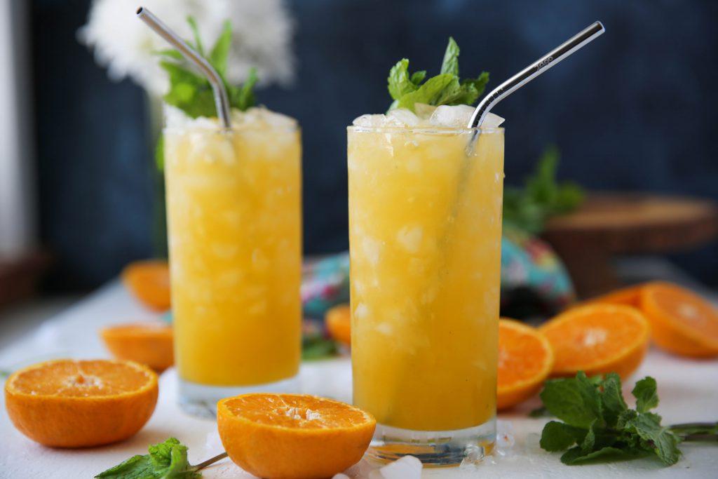 PaleOMG Mandarin Vodka Mojitos